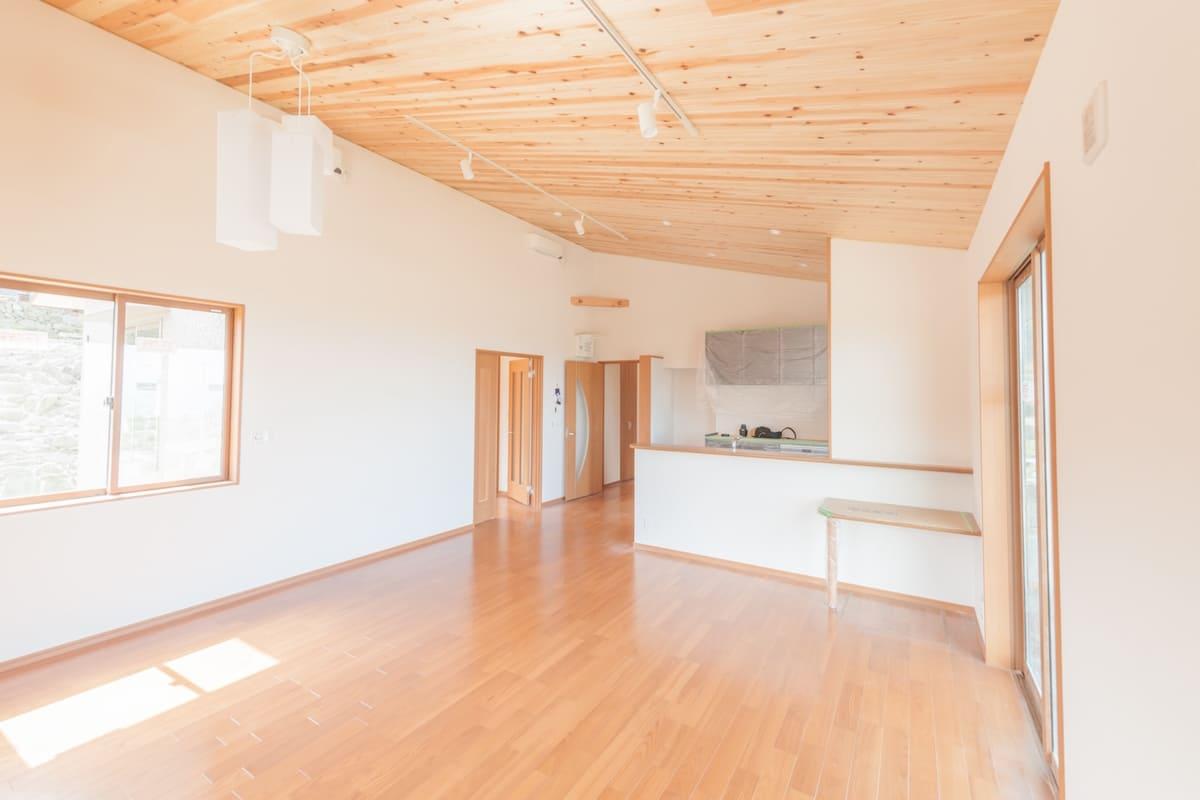 木造住宅の室内