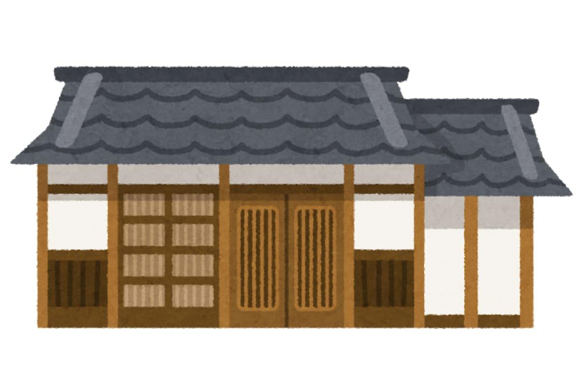 古民家の平屋