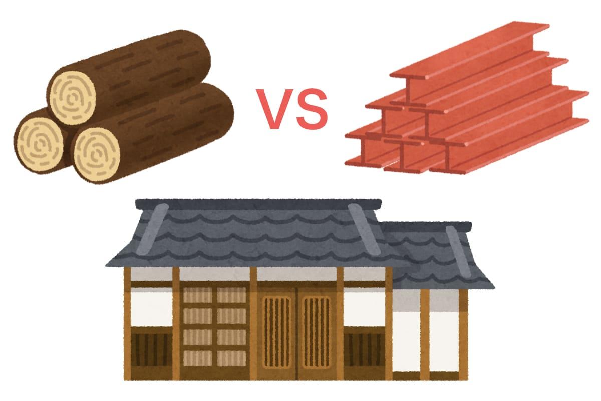 平屋では木造と鉄骨のどちらが良いか?